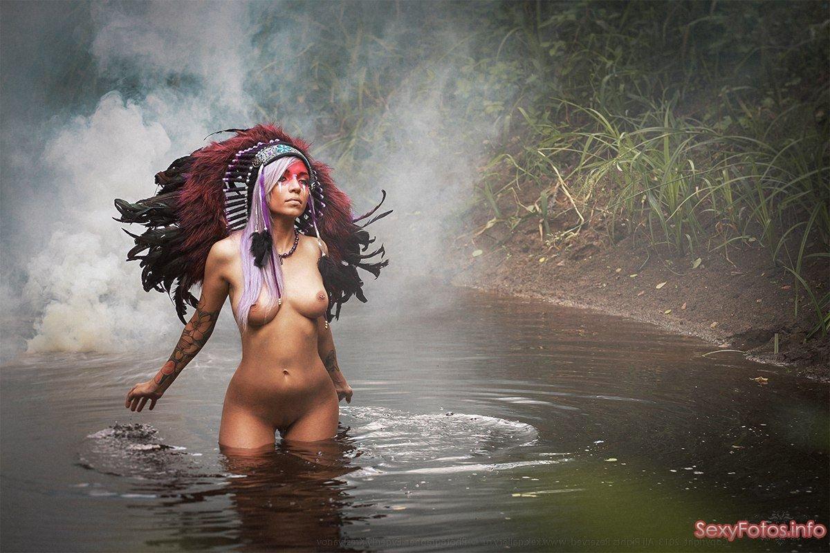Фото голые девушки индейцы 13 фотография